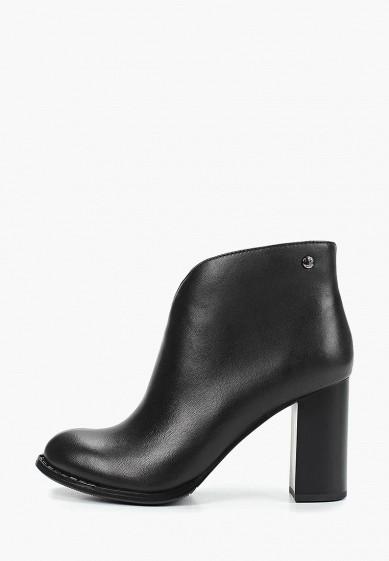 Ботильоны, Pierre Cardin, цвет: черный. Артикул: MP002XW1HU21. Обувь / Ботильоны
