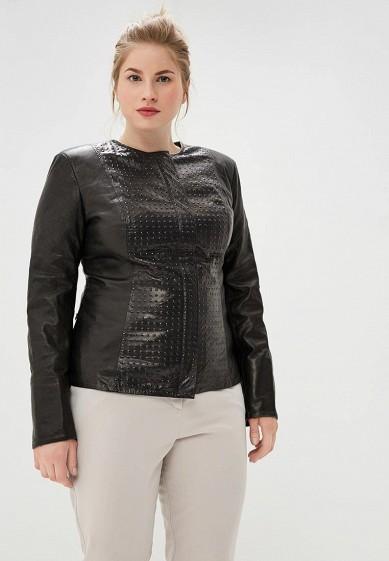 Куртка, Grafinia, цвет: черный. Артикул: MP002XW1HVO8. Одежда / Верхняя одежда / Кожаные куртки