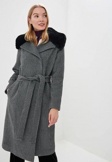 Пальто, Ruxara, цвет: черный. Артикул: MP002XW1I8E1. Одежда / Верхняя одежда / Пальто / Зимние пальто