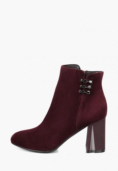 Ботильоны, Emilia Estra, цвет: бордовый. Артикул: MP002XW1IO0N. Обувь / Ботильоны