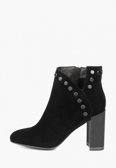 Ботильоны, Emilia Estra, цвет: черный. Артикул: MP002XW1IO13. Обувь / Ботильоны