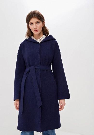 Пальто, Marsena, цвет: синий. Артикул: MP002XW1IPCC. Одежда / Верхняя одежда / Пальто