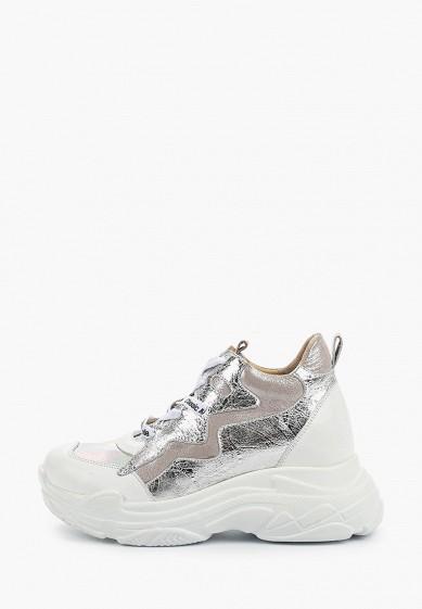 Кроссовки, Lr Lorettini, цвет: серебряный. Артикул: MS003AWGPZH2. Обувь / Кроссовки и кеды / Кроссовки
