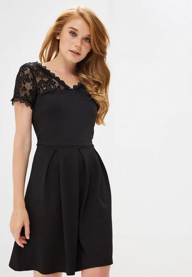 84db8f3cf1f7 Платье Naf Naf купить за 3 180 руб NA018EWBTZP7 в интернет-магазине  Lamoda.ru