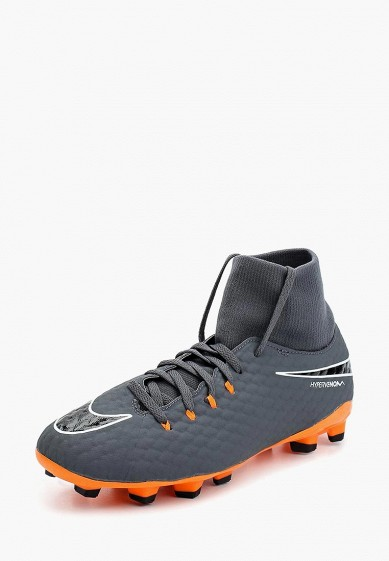 Бутсы Nike   Jr. Hypervenom 3 Academy Dynamic Fit (FG) Firm-Ground Football Boot
