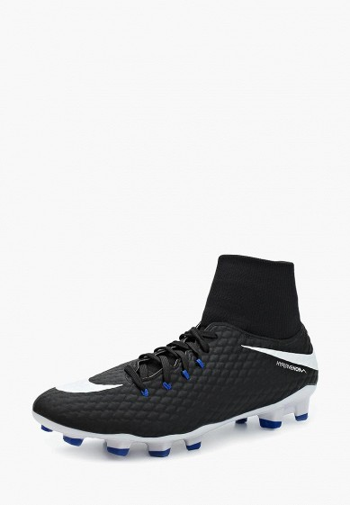 Бутсы Nike HYPERVENOM PHELON 3 DF FG купить за 4 790 руб NI464AMUFY00 в  интернет-магазине Lamoda.ru c1edad389ae