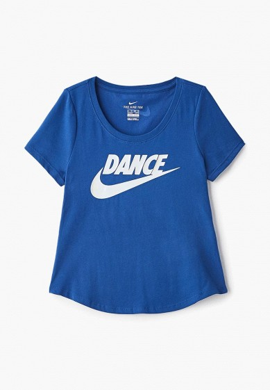 Футболка спортивная Nike Dri-FIT Big Kids' (Girls') T-Shirt