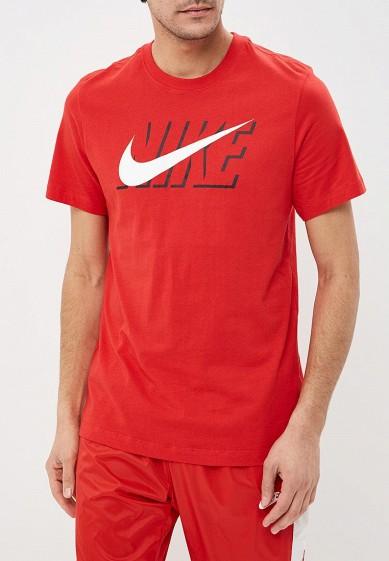 Футболка Nike M NSW TEE NIKE BLK CORE купить за 1 690 руб NI464EMDNEX3 в  интернет-магазине Lamoda.ru bea8cb96996