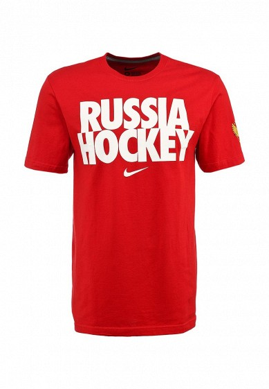 3a861a47 Футболка Nike IIHF TEAM ISSUE TEE 1.3 - RU - RUSSIA купить за 1 010 руб  NI464EMKT666 в интернет-магазине Lamoda.ru