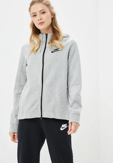 488ef9f5 Толстовка Nike Nike Sportswear Optic Women's Full-Zip Hoodie купить ...