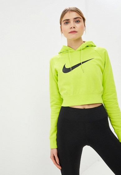 2561a357a60e Худи Nike W NSW SWSH HOODIE CROP FT купить за 4 290 руб NI464EWDNMM9 в  интернет-магазине Lamoda.ru