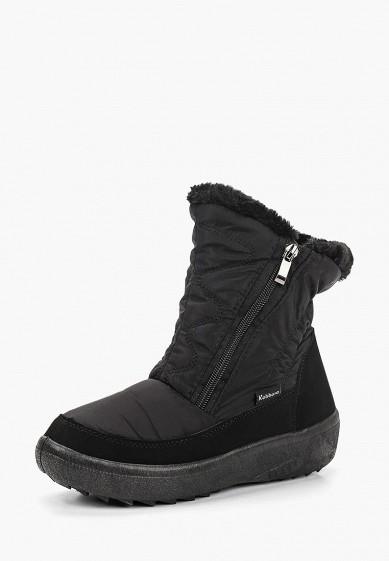 Дутики, Nobbaro, цвет: черный. Артикул: NO021AWCYTB5. Обувь