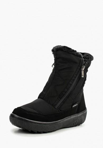 Дутики, Nobbaro, цвет: черный. Артикул: NO021AWMZI29. Обувь