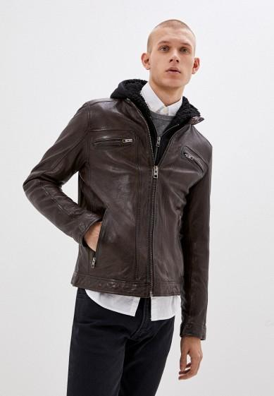 Куртка кожаная Oakwood за 29 299 ₽. в интернет-магазине Lamoda.ru