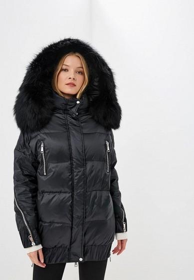 Пуховик, Odri, цвет: черный. Артикул: OD001EWCYJA3. Одежда / Верхняя одежда / Зимние куртки
