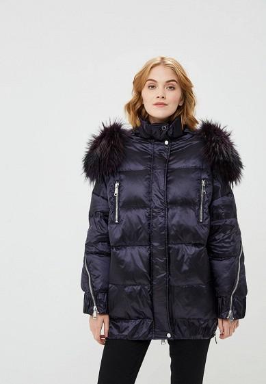Пуховик, Odri, цвет: фиолетовый. Артикул: OD001EWCYJA4. Одежда / Верхняя одежда / Зимние куртки