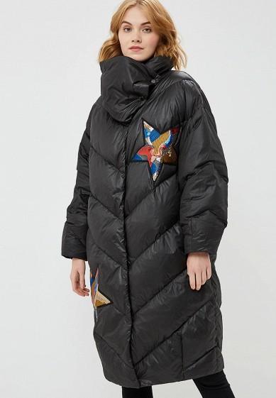 Пуховик, Odri, цвет: черный. Артикул: OD001EWCYJB7. Одежда / Верхняя одежда / Зимние куртки