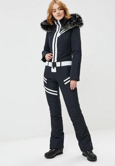 Комбинезон горнолыжный, Odri, цвет: черный. Артикул: OD001EWCYJC2. Одежда / Верхняя одежда / Зимние куртки