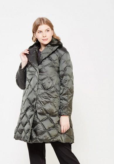 Пуховик, Odri, цвет: зеленый. Артикул: OD001EWXGF49. Одежда / Верхняя одежда / Зимние куртки