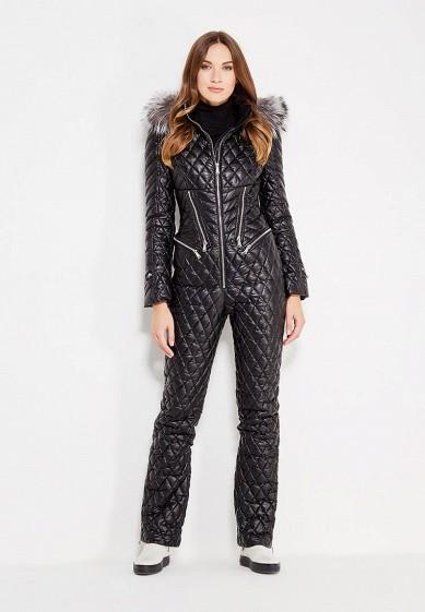 Комбинезон утепленный, Odri, цвет: черный. Артикул: OD001EWXGF87. Одежда / Верхняя одежда / Зимние куртки