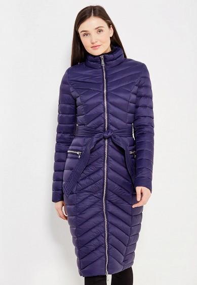 Пуховик, Odri, цвет: синий. Артикул: OD001EWYGM66. Одежда / Верхняя одежда / Зимние куртки
