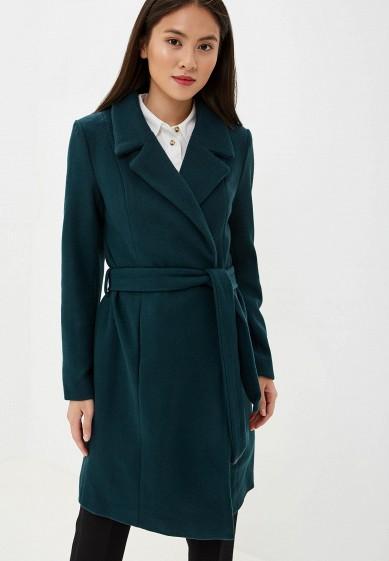 Пальто, Only, цвет: зеленый. Артикул: ON380EWFPCR5. Одежда / Верхняя одежда / Пальто