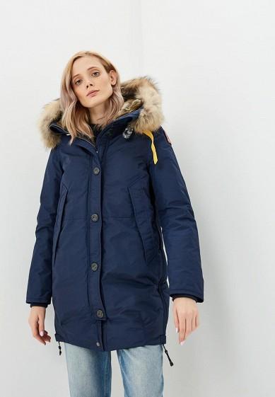 Пуховик, Parajumpers, цвет: синий. Артикул: PA997EWCCWG7. Premium / Одежда / Верхняя одежда