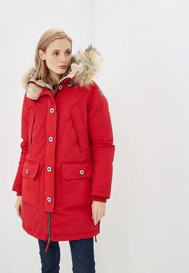 Пуховик, Parajumpers, цвет: красный. Артикул: PA997EWCCWH0. Premium / Одежда / Верхняя одежда