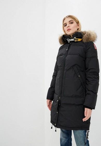 Пуховик, Parajumpers, цвет: черный. Артикул: PA997EWKKF44. Premium / Одежда / Верхняя одежда