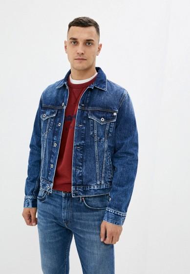 Куртка джинсовая Pepe Jeans за 8 799 ₽. в интернет-магазине Lamoda.ru