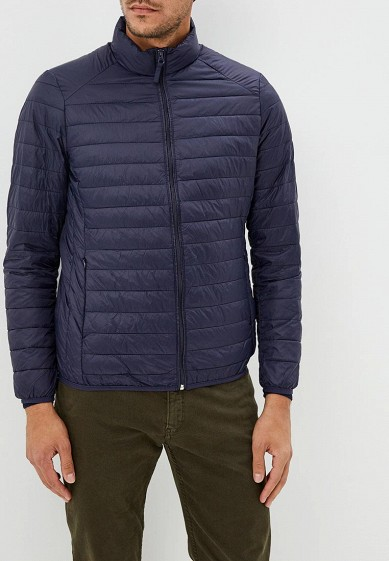 Куртка утепленная, Piazza Italia, цвет: синий. Артикул: PI022EMCUXC5. Одежда / Верхняя одежда