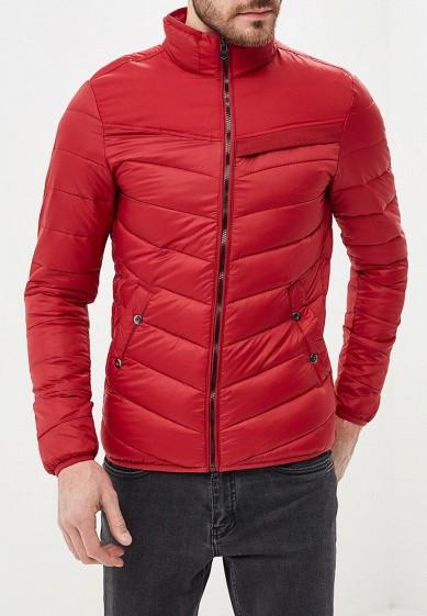Куртка утепленная, Piazza Italia, цвет: красный. Артикул: PI022EMCYTK4. Одежда / Верхняя одежда