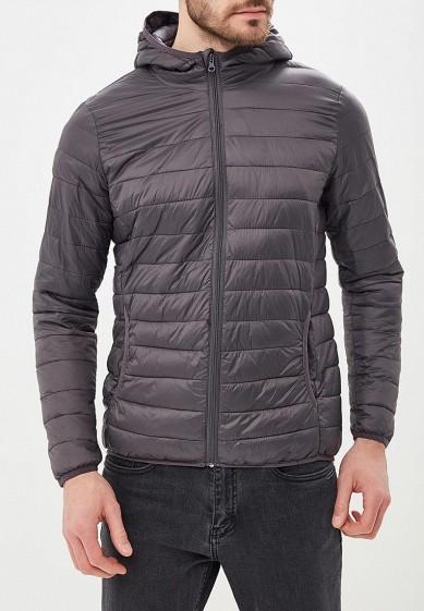 Куртка утепленная, Piazza Italia, цвет: серый. Артикул: PI022EMCYTM2. Одежда / Верхняя одежда