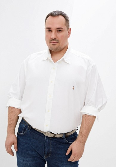 Рубашка Polo Ralph Lauren Big & Tall за 6 608 ₽. в интернет-магазине Lamoda.ru