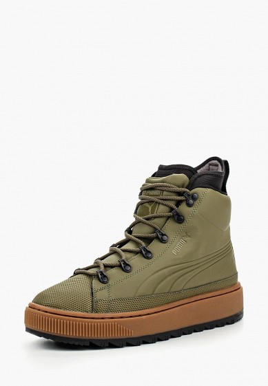 Кеды PUMA The Ren Boot Burnt Olive-Puma