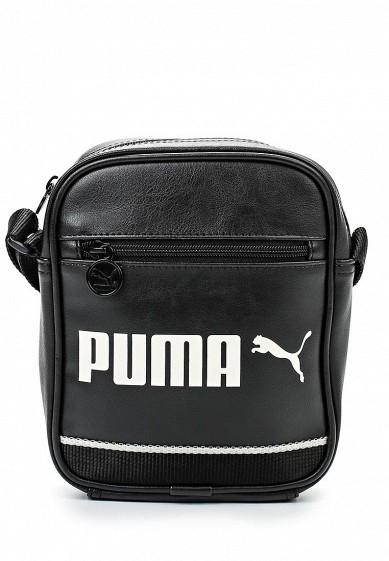 7853901082 Сумка PUMA Campus Portable black-whisper white купить за 49.60 р ...