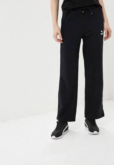 f934e16b3873 Брюки спортивные PUMA Classics T7 Straight Pants купить за 2 790 руб  PU053EWCJMR5 в интернет-магазине Lamoda.ru