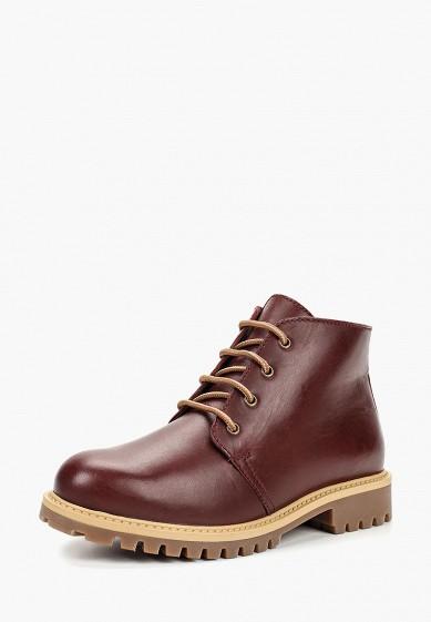 Ботинки, Ralf Ringer, цвет: бордовый. Артикул: RA084AWCQCD0. Обувь