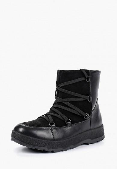 Полусапоги, Ralf Ringer, цвет: черный. Артикул: RA084AWCQCE6. Обувь