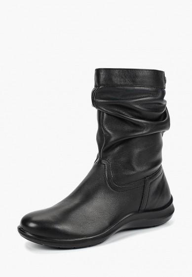 Полусапоги, Ralf Ringer, цвет: черный. Артикул: RA084AWCQCE8. Обувь
