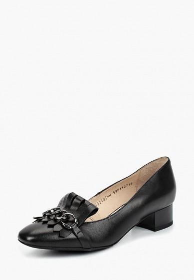 Туфли, Ralf Ringer, цвет: черный. Артикул: RA084AWCQCG7. Обувь
