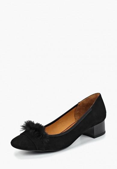 Туфли, Ralf Ringer, цвет: черный. Артикул: RA084AWCQCG8. Обувь