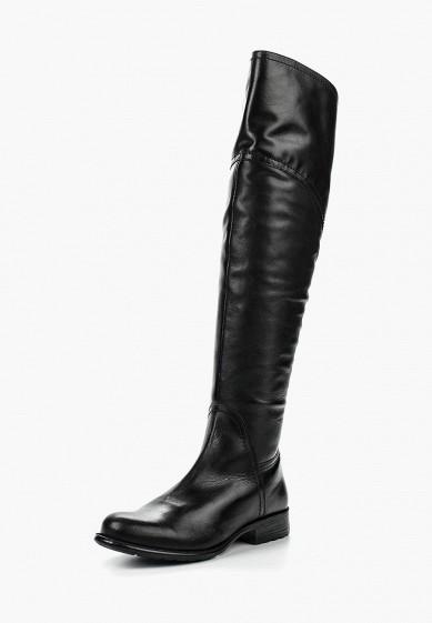 Ботфорты, Ralf Ringer, цвет: черный. Артикул: RA084AWLCC56. Обувь