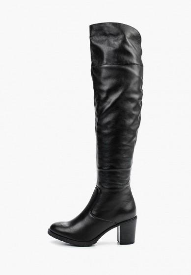 Ботфорты, Ralf Ringer, цвет: черный. Артикул: RA084AWLCC59. Обувь
