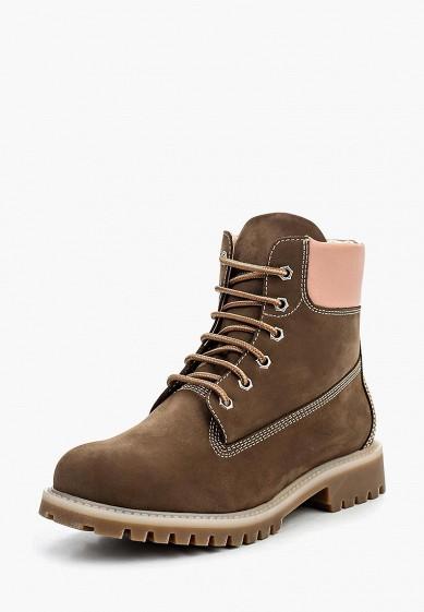 Ботинки, Ralf Ringer, цвет: коричневый. Артикул: RA084AWLCC93. Обувь