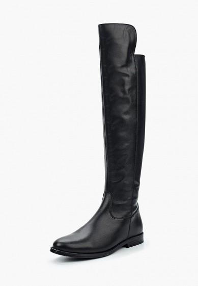 Ботфорты, Ralf Ringer, цвет: черный. Артикул: RA084AWVSB62. Обувь