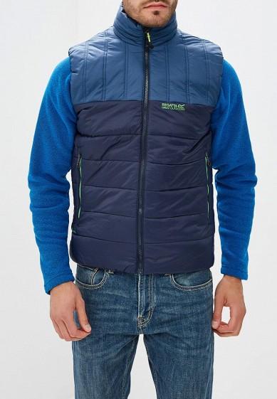 Жилет утепленный, Regatta, цвет: синий. Артикул: RE036EMCBWG6. Одежда / Верхняя одежда