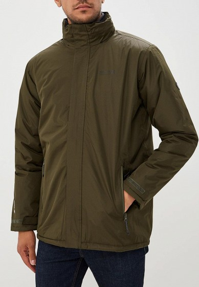 Куртка утепленная, Regatta, цвет: хаки. Артикул: RE036EMCBWI4. Одежда / Верхняя одежда