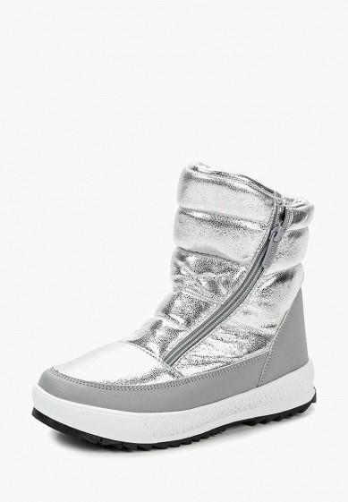 Дутики, Rio Fiore, цвет: серебряный. Артикул: RI033AWCPFL3. Обувь
