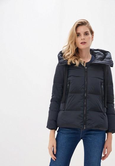 Куртка утепленная, Savage, цвет: синий. Артикул: SA004EWGESE8. Одежда / Верхняя одежда / Пуховики и зимние куртки